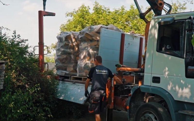 Tűzifa Esztergomba és Komárom-Esztergom megyébe
